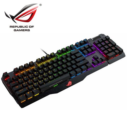ASUS 華碩 ROG Claymore 機械式電競鍵盤 (青軸)