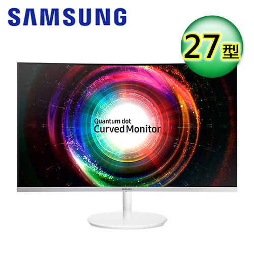 SAMSUNG 三星 C27H711QEE 27型 VA曲面 量子點螢幕