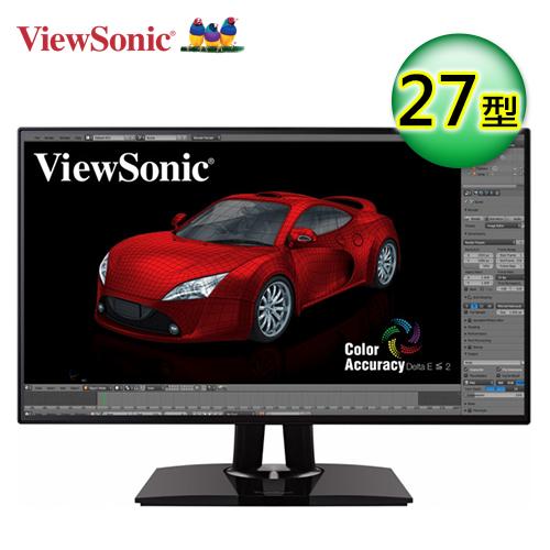 ViewSonic 优派 VP2768 27型 WQHD 专业型显示器萤幕