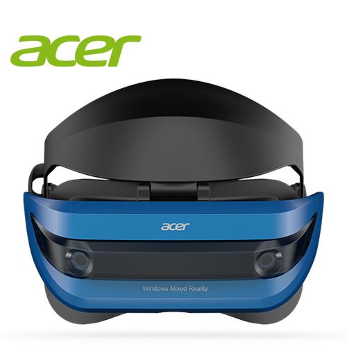 Acer Windows 混合實境(MR) 頭戴式顯示器 AH101(附手部控制器)