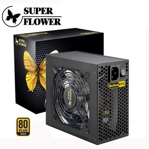 Super Flower 振華  冰山金蝶500W 80+金牌POWER 電源供應器