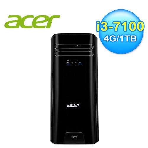 ACER 宏碁 Aspire TC-780 i3-7100 桌上型電腦