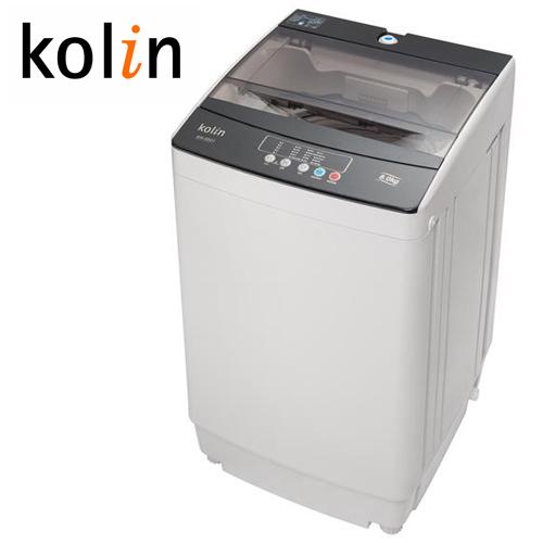 KOLIN 歌林 8KG 全自动单槽洗衣机 BW-8S01