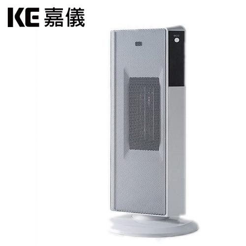 KE嘉儀|定時遙控陶瓷電暖器 純淨白 KEP-565W