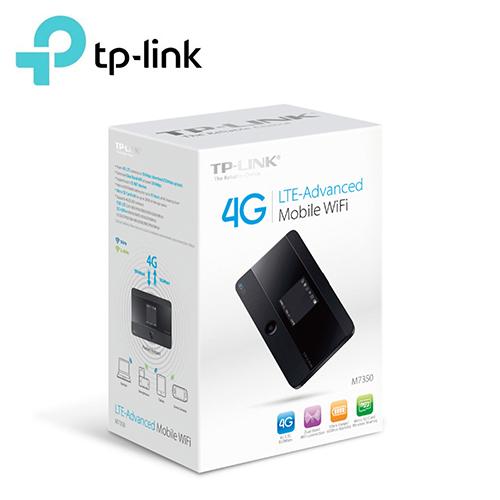 TP-Link M7350 4G 進階版 LTE 行動 Wi-Fi 分享器 英文版