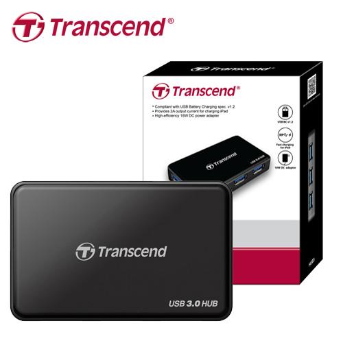 Transcend 创见 TS-HUB3K USB 3.0 4-Port 集线器