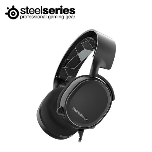 Steelseries 赛睿 Arctis 3 耳机麦克风 黑色