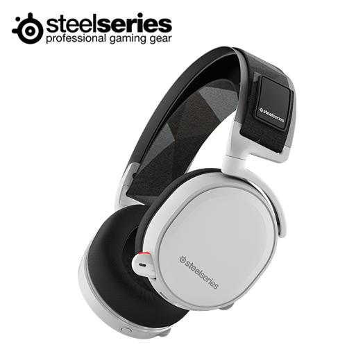 SteelSeries 賽睿 ARCTIS 7 無線耳麥(白色)