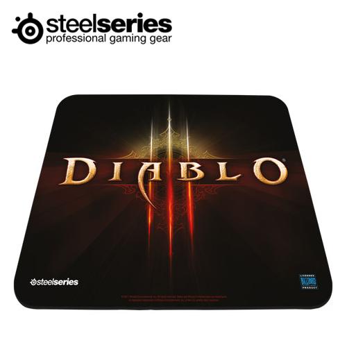 SteelSeries 賽睿 QCK Diablo III Logo 暗黑3 滑鼠墊