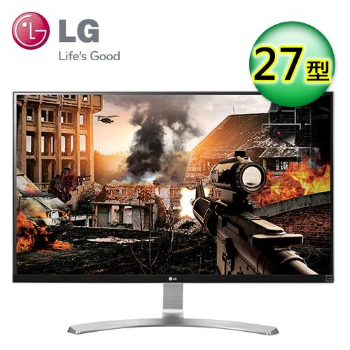 LG 27UD68-W 27型 AH-IPS 4K 电竞电脑萤幕