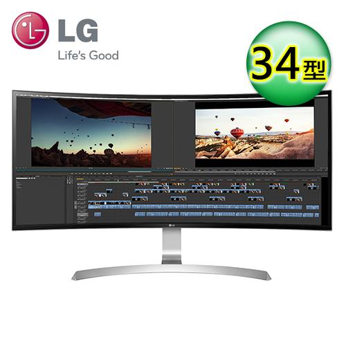 LG 34UC99-W 34型 21:9 曲面电竞电脑萤幕