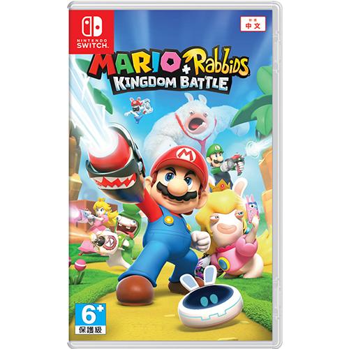 NS 任天堂 Nintendo Switch 玛利欧+疯狂兔子王国之战 中文版