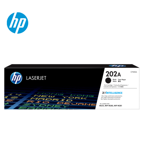 HP 惠普 202A 黑色原廠 LaserJet  碳粉匣(CF500A)