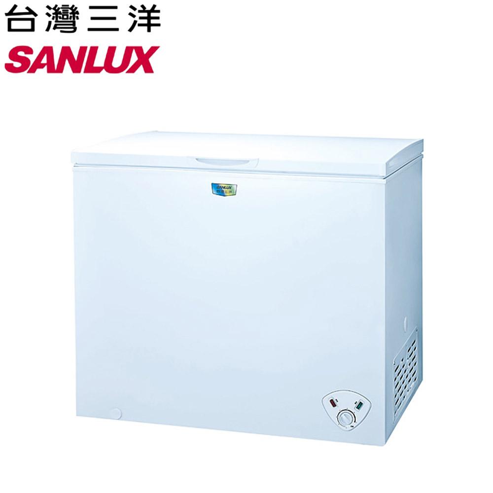 【SANLUX 台灣三洋】207L冷凍櫃SCF-207W