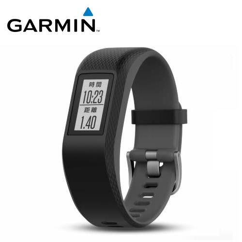 GARMIN vivosport GPS 智慧健康心率手环 跃动黑(S/M)