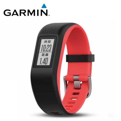 GARMIN vivosport GPS 智慧健康心率手环 珊瑚红(S/M)