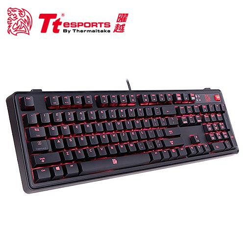 Tt eSPORTS 曜越 拓荒者PRO背光機械鍵盤 紅軸
