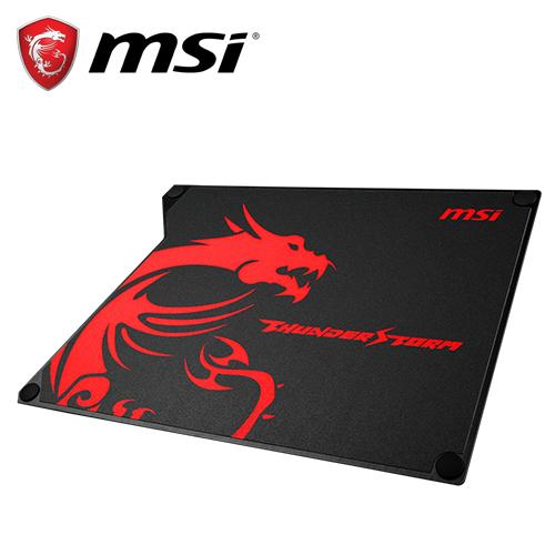MSI 微星 Thunderstorm 雷暴双用铝质电竞鼠标垫