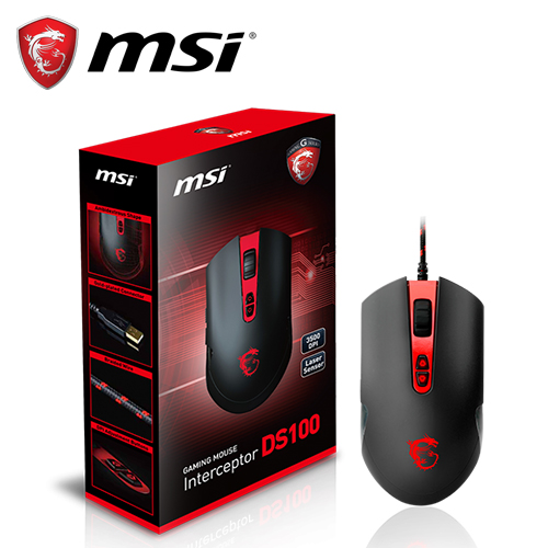 MSI 微星|DS100 玩家級電競滑鼠