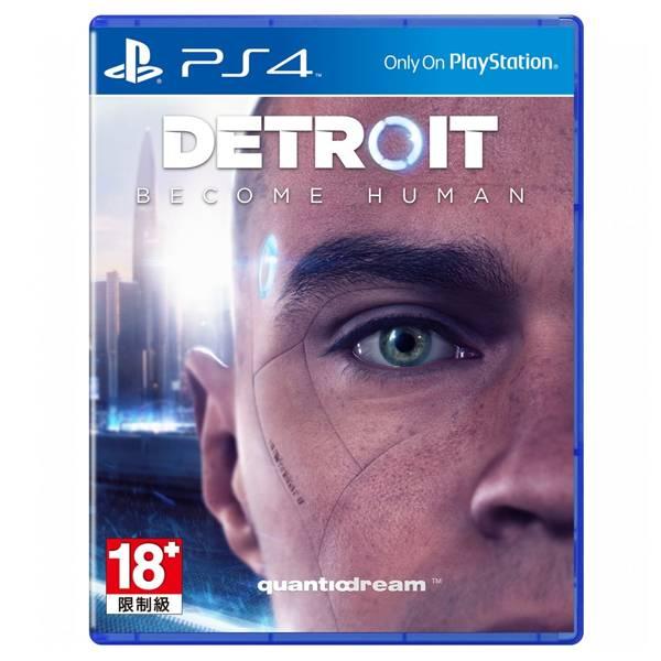 Sony PS4 游戏片 底特律:变人《中文版》