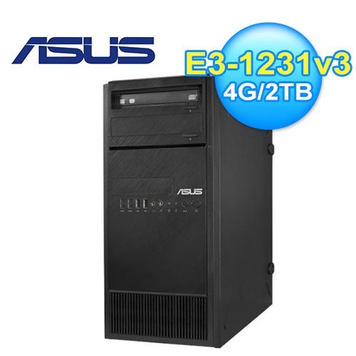 ASUS 华硕 TS110 E3-1231v3 服务器主机