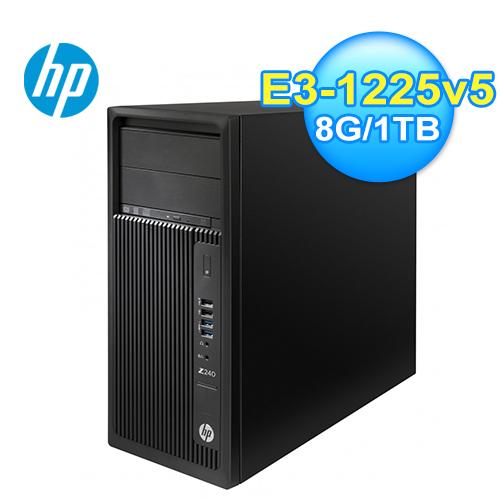 HP Z240TWR 直立式工作站(3BS76PA)
