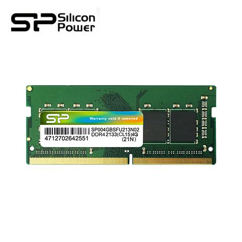 Silicon Power 广颖 8G DDR4 2400 笔记型内存