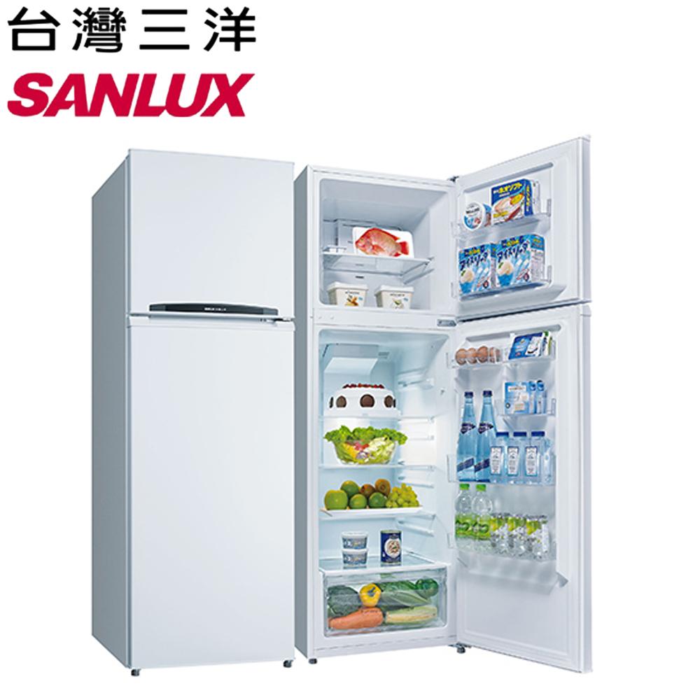 【SANLUX 台灣三洋】250公升雙門定頻冰箱SR-B250B3