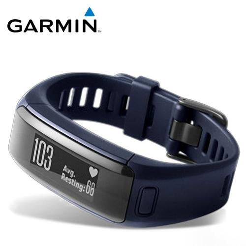 GARMIN VivoSmart HR 智慧手环(都市蓝)