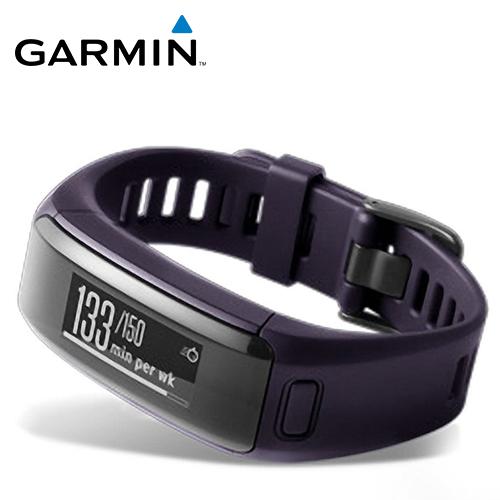 GARMIN VivoSmart HR 智慧手環(神秘紫)