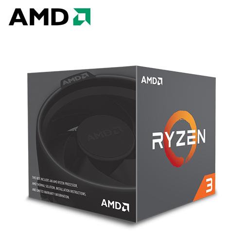 AMD Ryzen 3-1200 3.1GHz 四核心处理器
