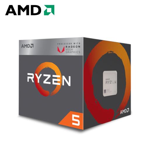 AMD Ryzen 5-2400G 3.6GHz 四核心处理器