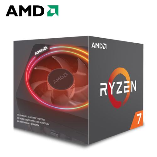 AMD Ryzen 7-2700X 3.7GHz 八核心处理器