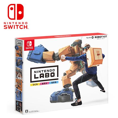 Nintendo Labo 任天堂实验室 机器人套件组 Toy-Con02 Robot Kit 《日文版》