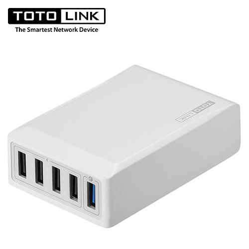 TOTOLINK UP405 QC3.0 1+4埠 閃充充電器
