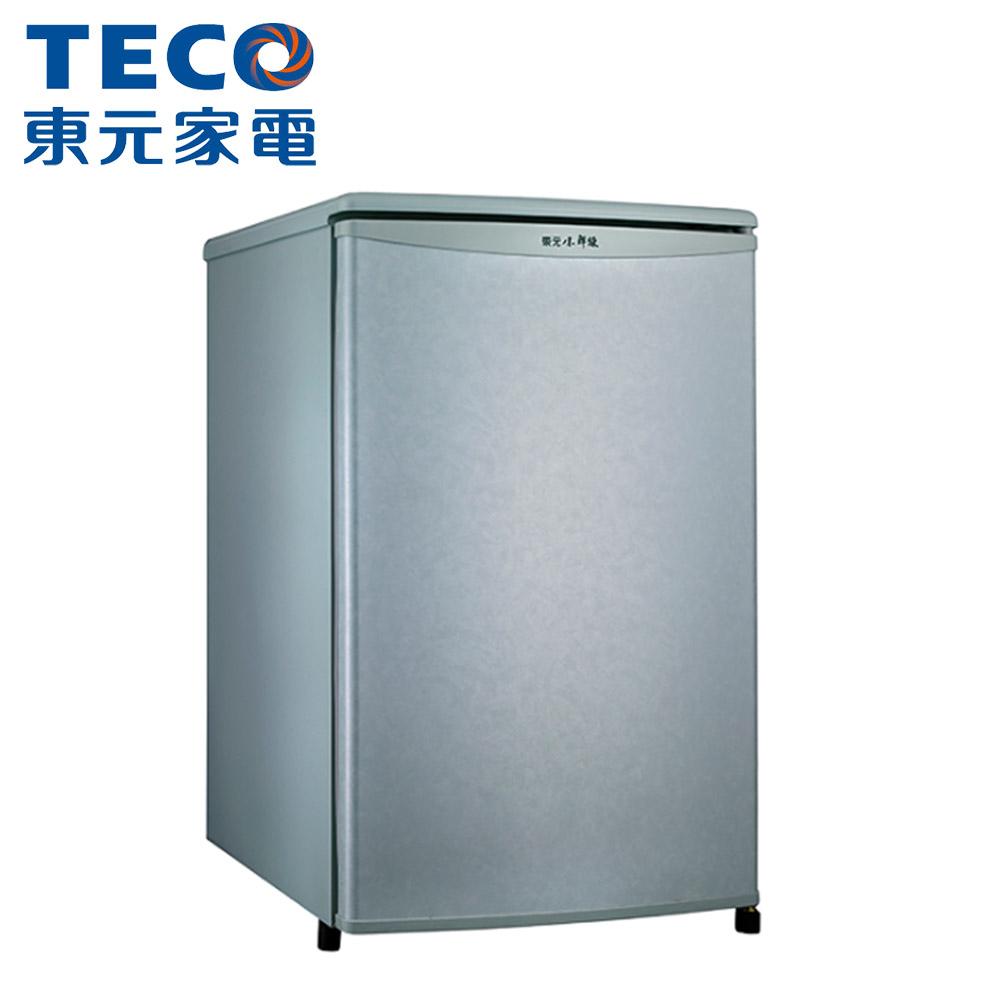 【TECO東元】91L小鮮綠系列單門電冰箱R1072SC