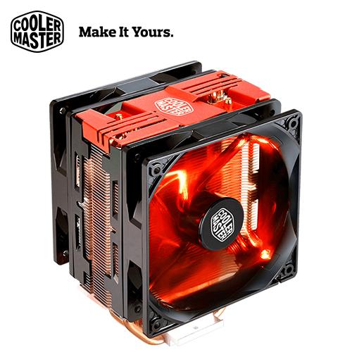 Cooler Master 酷碼 HYPER 212 LED TURBO 散熱器(紅蓋)