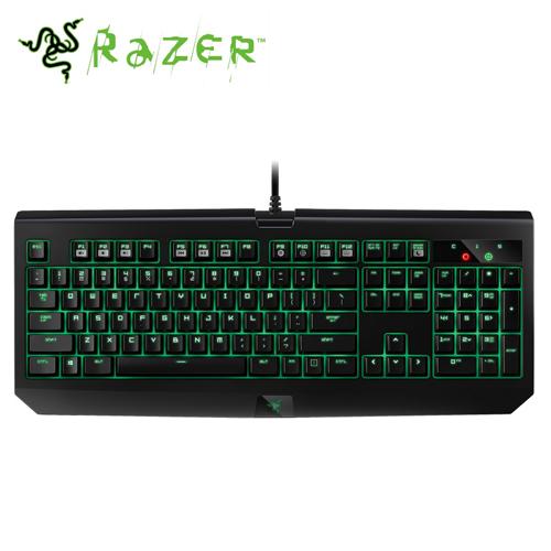 Razer 雷蛇 BlackWidow Ultimate 黑寡婦終極版 綠軸機械式鍵盤(中文版)