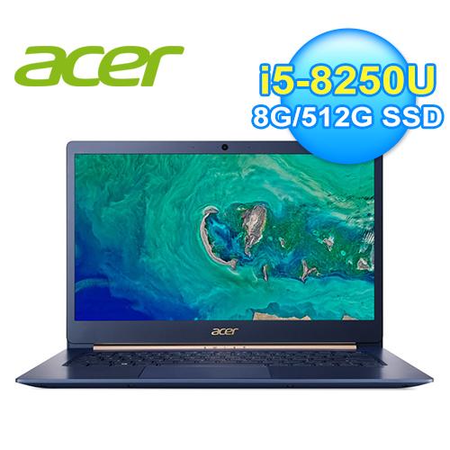 ACER SF514-52T-56Q4 14吋觸控筆電 爵士藍