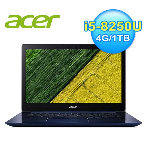 ACER SF314-54G-508B 14吋窄邊框筆電 品藍