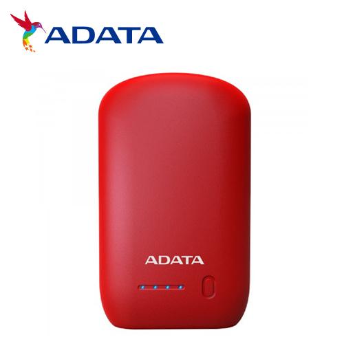 ADATA 威剛 P10050 行動電源 10050mAh 紅色