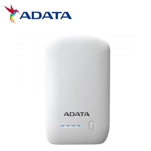 ADATA 威剛 P10050 行動電源 10050mAh 白色