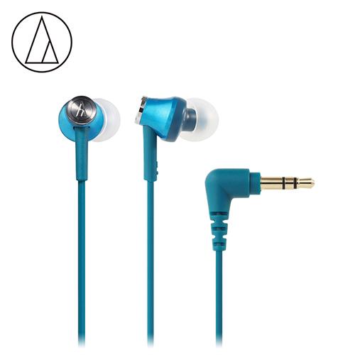 Audio-Technica 鐵三角 ATH-CK350M 耳道式耳機 藍綠色