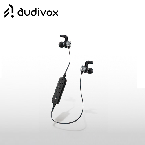 audivox 運動藍牙耳機式隨身聽/播放器 沉穩黑