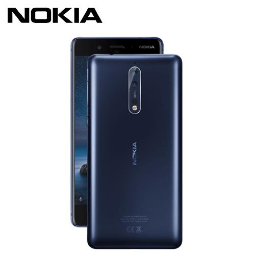 NOKIA 8 5.3吋智慧型手機 64G-簡配 緞面藍