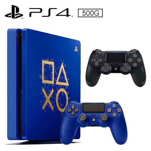 Sony PS4 500G 主機(限量特別款)+原廠手把黑(CUH- ZCT2G)