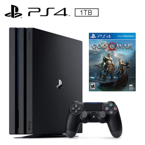 SONY PS4 PRO 1TB 主機 + 戰神《中文版》