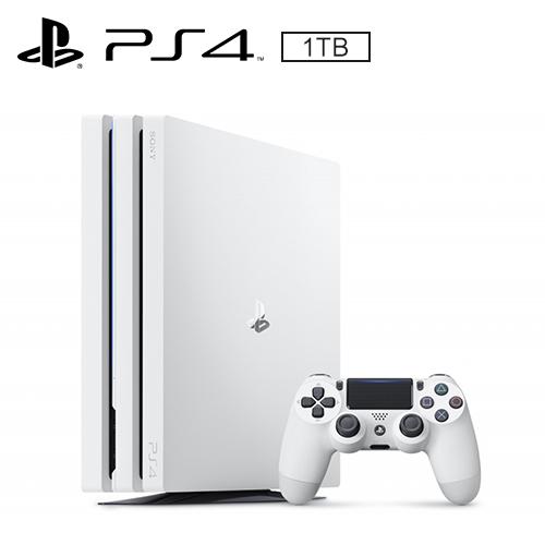 SONY PS4 Pro主機「冰河白」7117型 1TB 台灣公司貨