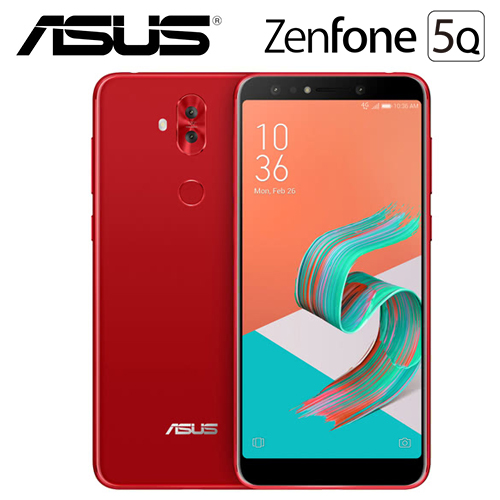 ASUS ZenFone 5Q ZC600KL 64G 智慧手機 愛戀紅