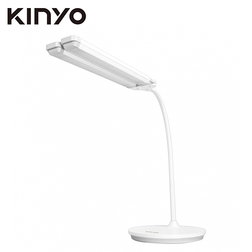KINYO 雙頭廣角 LED 情侶檯燈(PLED-427)